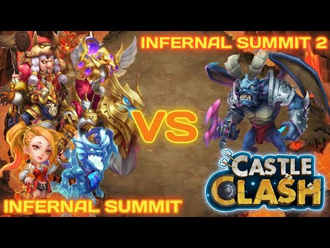 Eternity Team Clash - Infernal Summit 2 | TEAM HERE BE MONSTER (THBM) | CASTLE CLASH