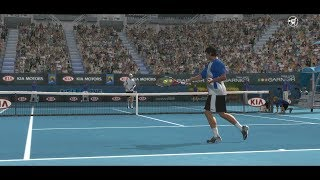 Top Spin 3 - Mark Philippoussis vs Andy Roddick - PS3 Gameplay