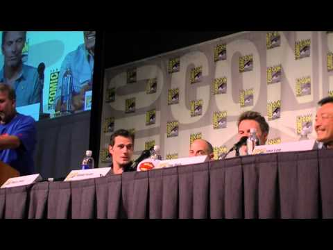SDCC 2013 SUPERMAN HENRY CAVILL ENTIRE PANEL