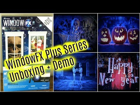 WindowFX Plus Series 2017 | Halloween + Christmas Window Projector Unit