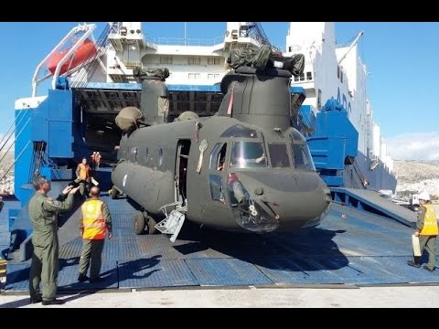 Greece receives first three CH-47 Chinook heavy lift helicopters from US
