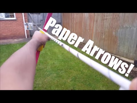 HOW TO MAKE: PAPER ARROWS!