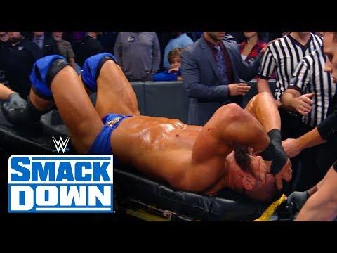 Roman Reigns Flips Robert Roode's Stretcher: SmackDown Exclusive, Nov. 29, 2019