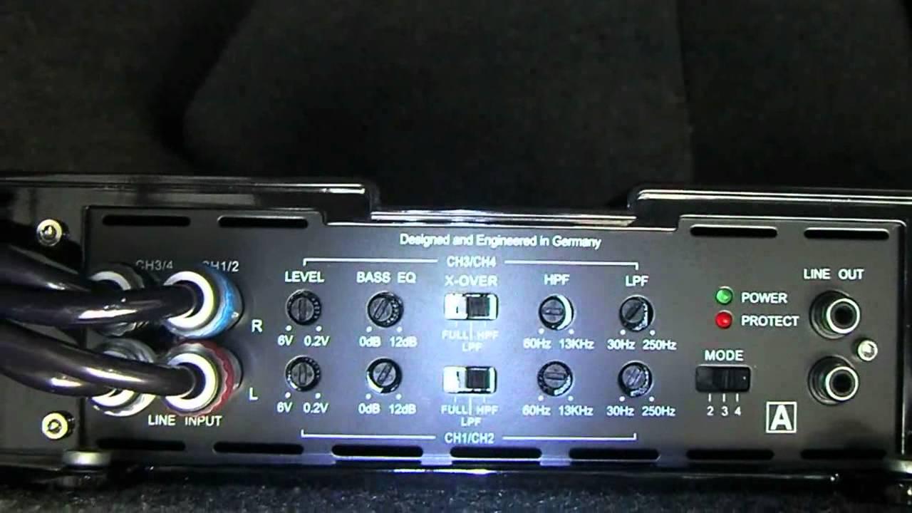 medium resolution of mb quart amp install