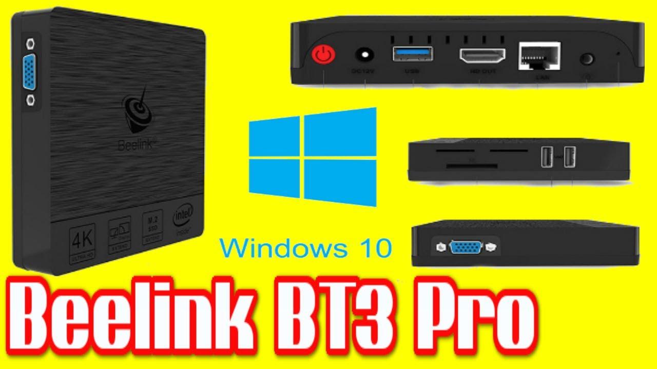 beelink bt3pro  NEW! Beelink BT3 Pro Intel Atom x5 Z8350 Windows 10 4GB RAM + 32 ...