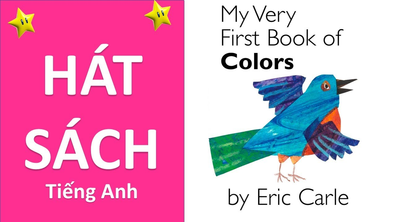 My very first book of colors- Eric Carle - Singing version - YouTube