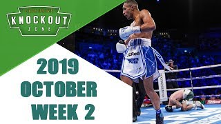 Boxing Knockouts | October 2019 Week 2