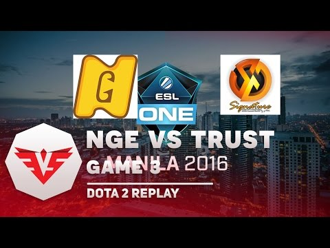 ESV TV | ESL One Manila Qualifier |  Next-gen Vietnam vs Signature.Trust - Game 3