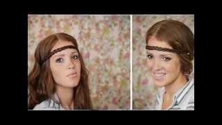 Обворожительные прически с повязкой(Всем девушкам, которые следят за собой, каждый день хочется иметь ухоженные волосы и красивую прическу...., 2014-08-05T12:02:41.000Z)