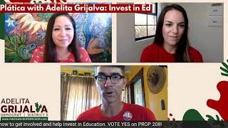 Platica with Adelita: Invest in Education