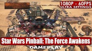 Star Wars Pinball: The Force Awakens gameplay PC HD [1080p/60fps]