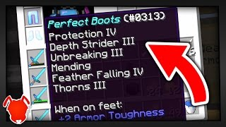 PERFECT ENCHANTS in MINECRAFT SURVIVAL?!