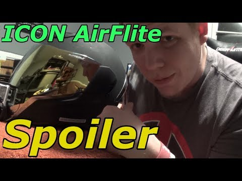 How To Remove/Add Spoiler | ICON Airflite