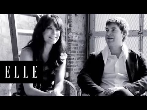 Mark Duplass and Katie Aselton  Modern Love  ELLE