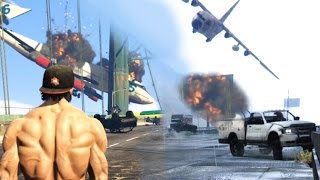 GTA V PC GONE CRAZY - CARMAGEDDON + ANGRY PLANES + Flying MOD - Gameplay Compilation HD thumbnail