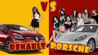 porsche vs renault pick up girls ibratv