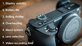 Sony A6500 - 7 weaknesses + how to fix them 4K
