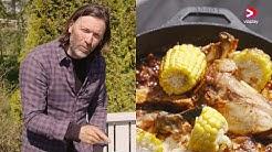 BBQ Kyckling Texas Style | Food & Fire | A Viaplay Original