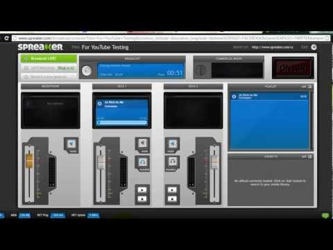 How to use the Spreaker DJ Console