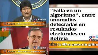 La OEA se parece a las gallinas tuertas | El Jarabe Seg-2 11-11-19