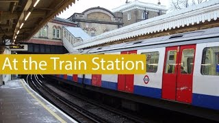 English Conversation: At the Train Station