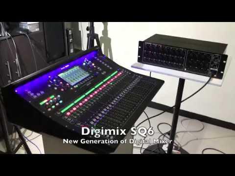 """NEW DIGIMIX 48 ch input """"Allen Heath SQ6"""""""