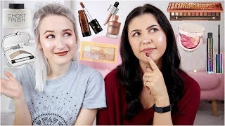 TESTING NEW MAKEUP (with Just Jodes) | Sophie Louise