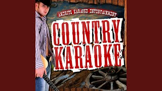 You're Gonna Miss This (In the Style of Trace Adkins) (Karaoke Version)