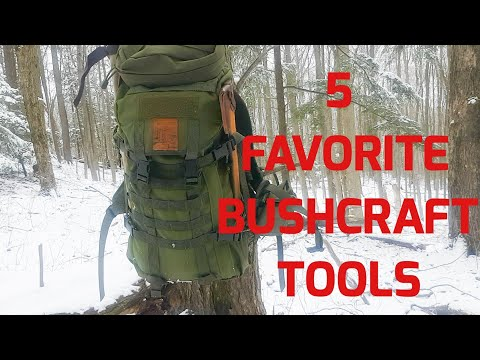 5 Favorite Bushcraft Tools