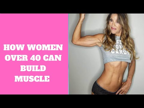 How Women Over 40 Build Muscle