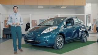 Apprenez-en plus sur la LEAF 100% ÉLECTRIQUE du Groupe Beaucage Nissan