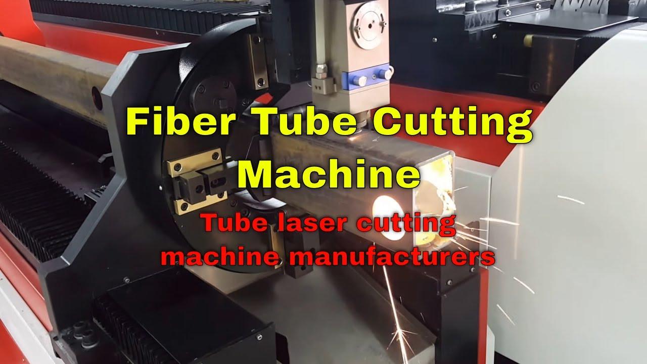 Cnc Laser Tube Cutting Machine Accurl Ipg Fiber 500w