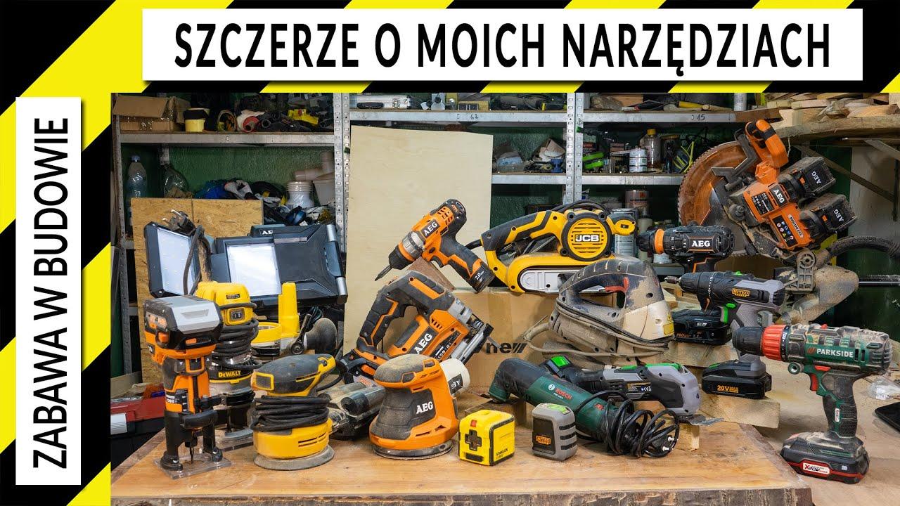 Cała prawda o moich wszystkich narzędziach - pierwsze 58s bez dzwięku :(