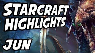 StarCraft Brood War Best Moments | June