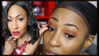 How To Apply False Lashes For Beginners⎪The Non Youtuber Way