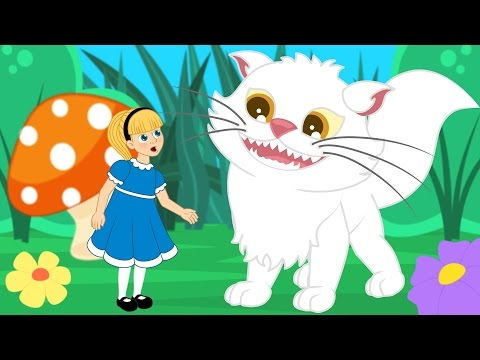 Alice au Pays des Merveilles  | 1 Conte + 4 comptines et chansons  - dessins animés en français