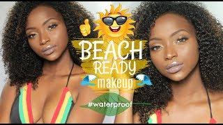 WATERPROOF (Sweatproof) Makeup for BLACK WOMEN with OILY SKIN| Easy, Affordable & BEGINNER FRIENDLY
