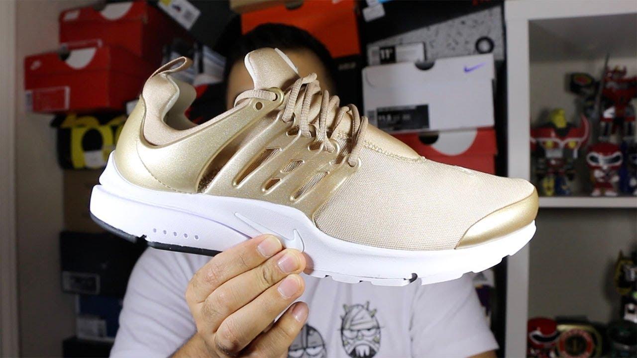 Nike Air Review!Youtube Presto Premium Metallic Gold Review!Youtube Air 86838d
