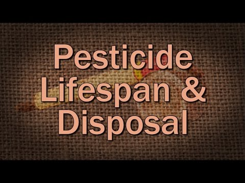 Pesticide Lifespan and Storage - Family Plot