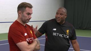 Legend vs Legend - Foot Tennis Challenge | Liverpool FC