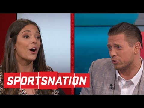 The Miz goes after Katie Nolan, LZ Granderson on calling LeB