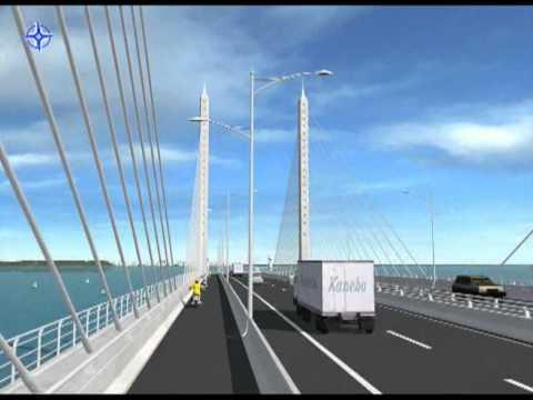 jkr second penang bridge.flv
