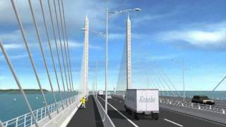 jkr second penang bridge.flv