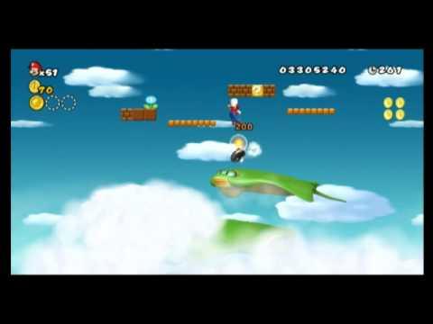 New super mario bros. Wii star coin location guide world 7.