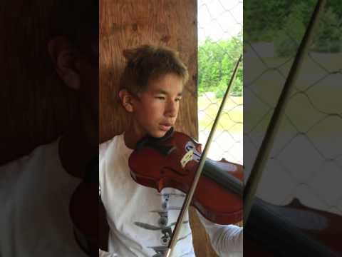 William playing Hallelujah