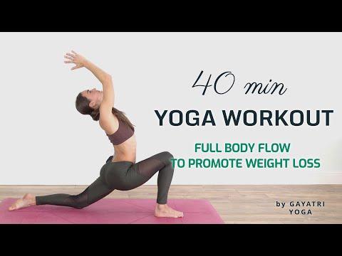 🙏 40 MIN TOTAL BODY VINYASA YOGA ❤️ Dynamic Energizing Workout Flow