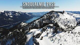 Snoqualmie Pass Gold Creek Backcountry Exploration with DJ Mavic Air HD