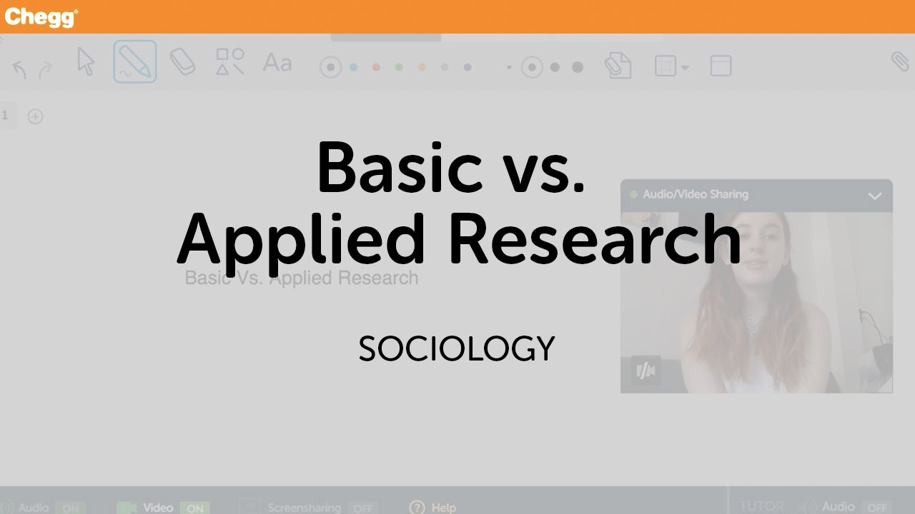 applied sociology Applied science is the search for ways of using scientific knowledge to solve  practical problems a sociologist making a study of the social structure of a slum.