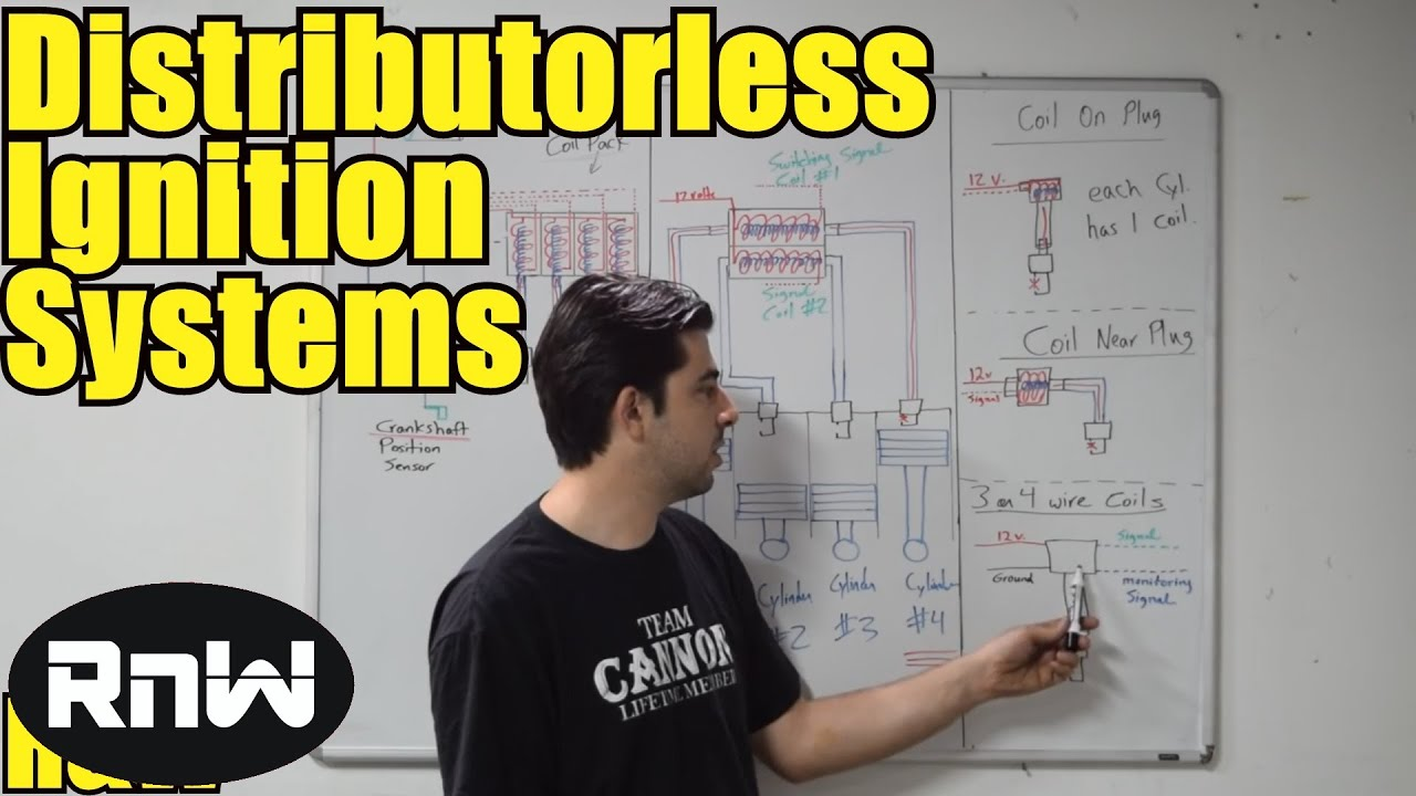 How An Ignition System Works Distributorless Systems Dis For Electronic Wiring Diagram Ih Explained