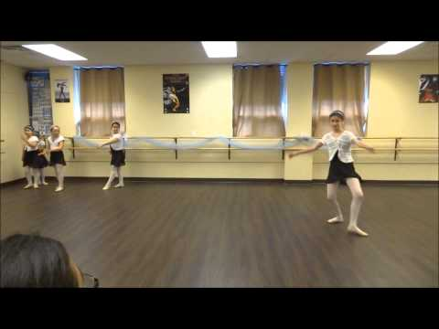 Ballet 1 & 2 End-of-year Open Class - Chaines  (part 9 )